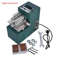 1PC Einzel kopf streifen schneiden maschine 1400r/min1: 12 5 Leder Streifen Schneiden Maschine Leder Cutter Werkzeug Heißer