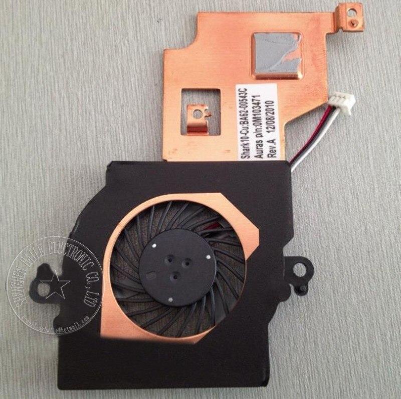 (100 Teile/los) 100% Brandl Neue Cpu-lüfter Für Samsung Nf108 Nf110 Nf210 Nf310 Mit Kühlkörper Laptop Fan