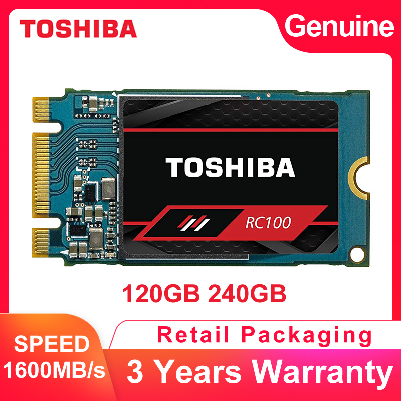 TOSHIBA Hard-Disk Pcie SSD Notebook 240GB Solid-State-Drive M.2 2242 Gen3x2 Nvme Laptop