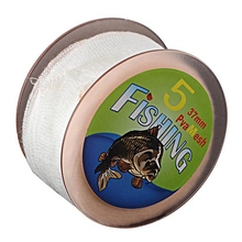 5M 25/37/44mm PVA Narrow Fishing Mesh Tape Refill Carp Stocking Boilie Rig Bait Wrap Bags In Spool Carp Fishing Accessory Tools