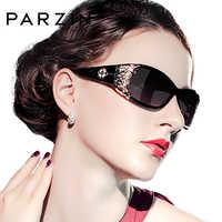PARZIN marque de luxe Vintage lunettes de soleil femmes polarisées dames lunettes de soleil pour les femmes creux dentelle féminine lunettes pour la conduite