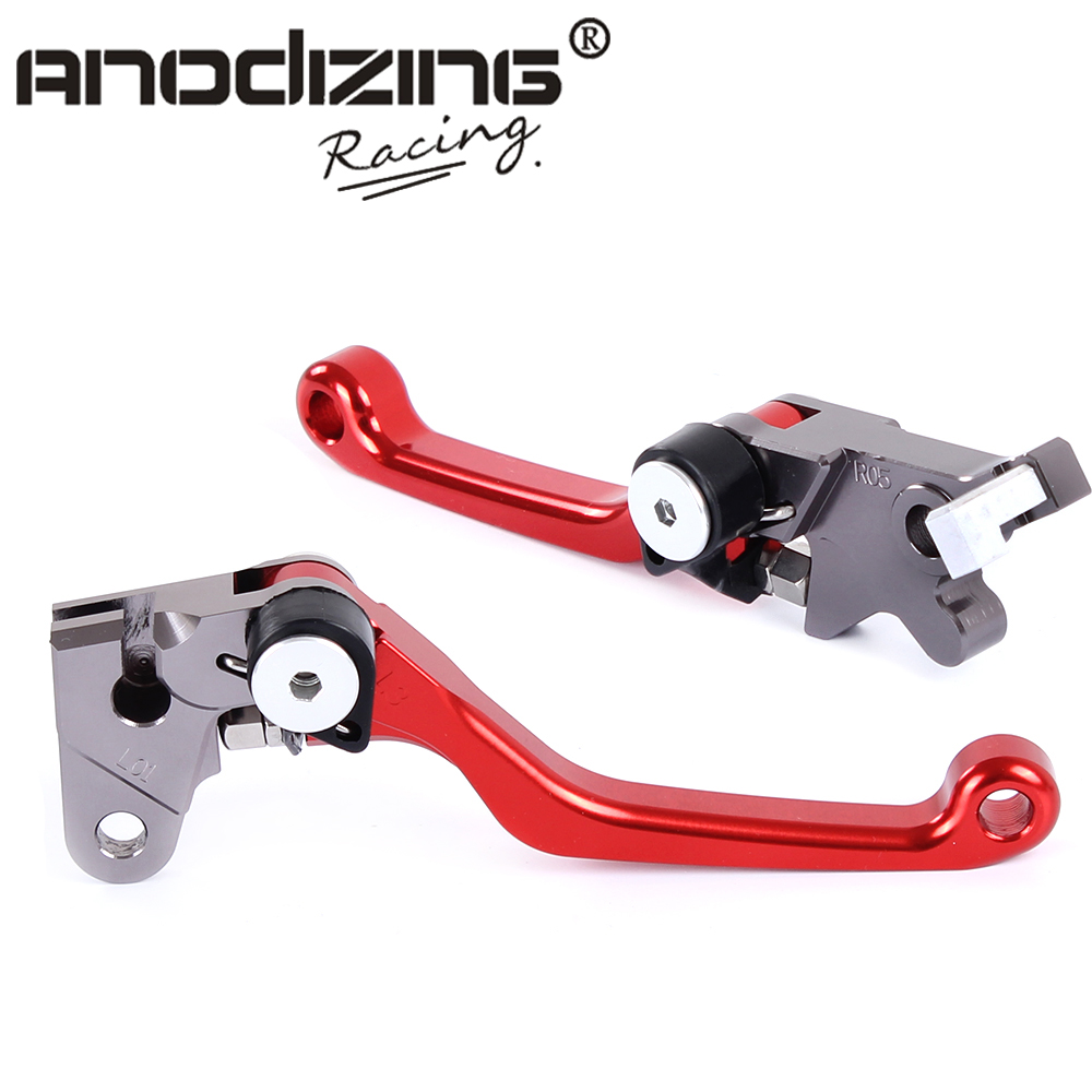 Pivot Brake Clutch Levers for HONDA XR250/MOTARD CRM250R/AR XR400MOTARD motorcycle semi met brake pads set for honda xr250 xr 250 s r 1996