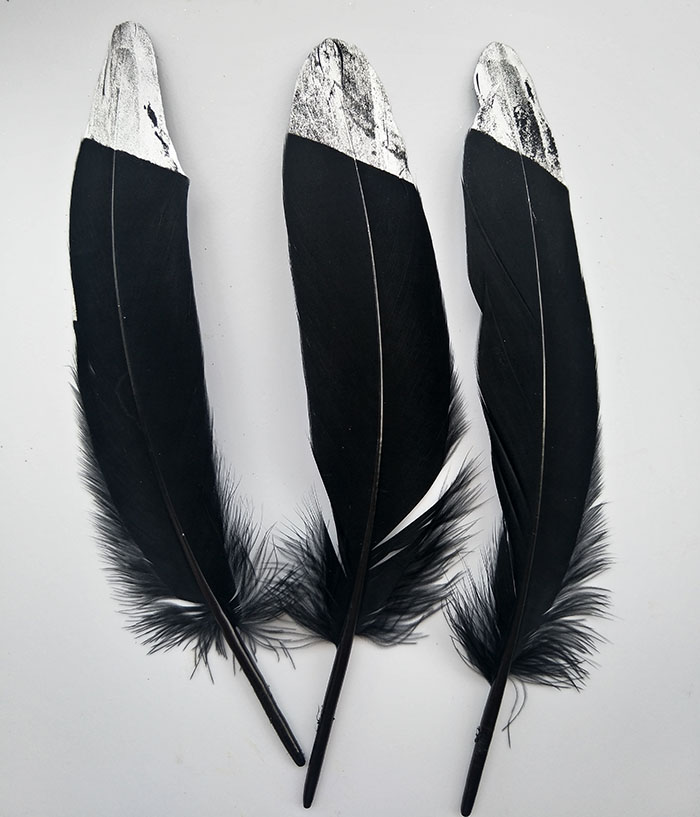 100 pcs multicolor Per Set  Goose Feather Home Celebrity Decoration15-20cm 6-8 Inch Accessory plume wedding decoration feathers