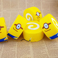 15PCS/LOT Jumbo 10CM Squishy Despicable Me Minions Cake Roll Soft Bread Scented  Wholesale Kids Food Toy