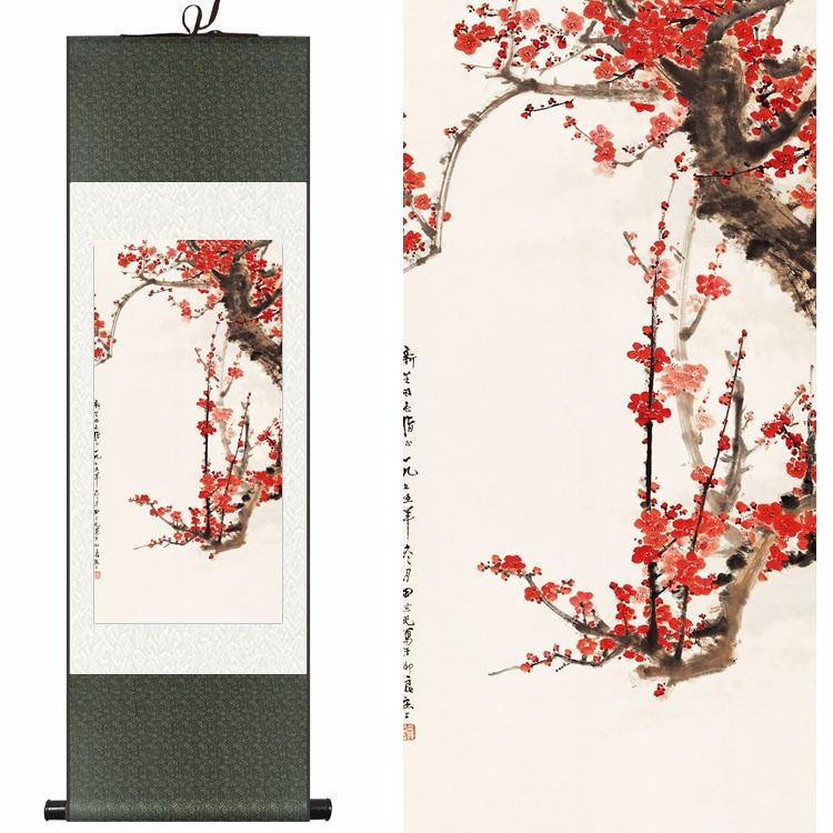 Φ_ΦFlor de seda de la acuarela del chino tradicional Flor del ...