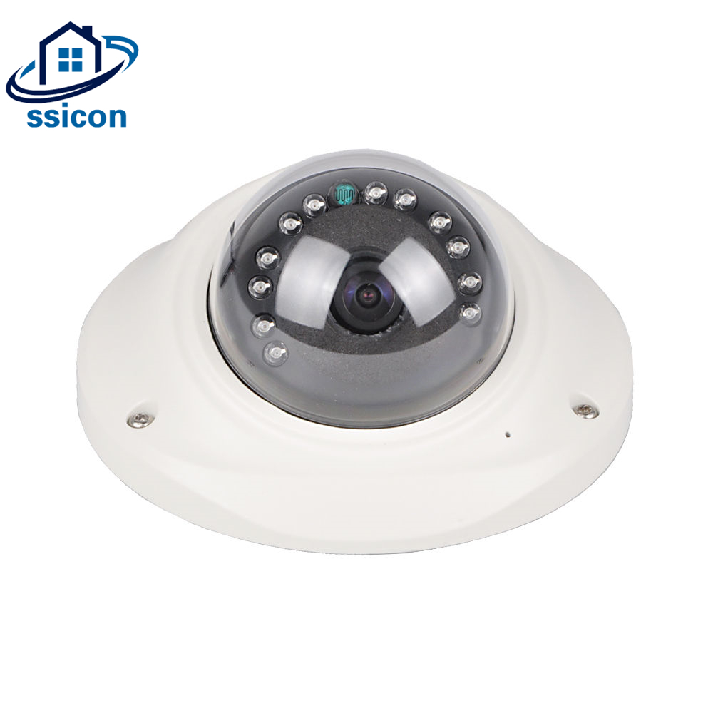 SSICON Vandalproof 180 Degree 360 Degree IP Camera H.265 Indoor Dome 2.0MP House Mini Fisheye Security Surveillance CCTV CameraSSICON Vandalproof 180 Degree 360 Degree IP Camera H.265 Indoor Dome 2.0MP House Mini Fisheye Security Surveillance CCTV Camera