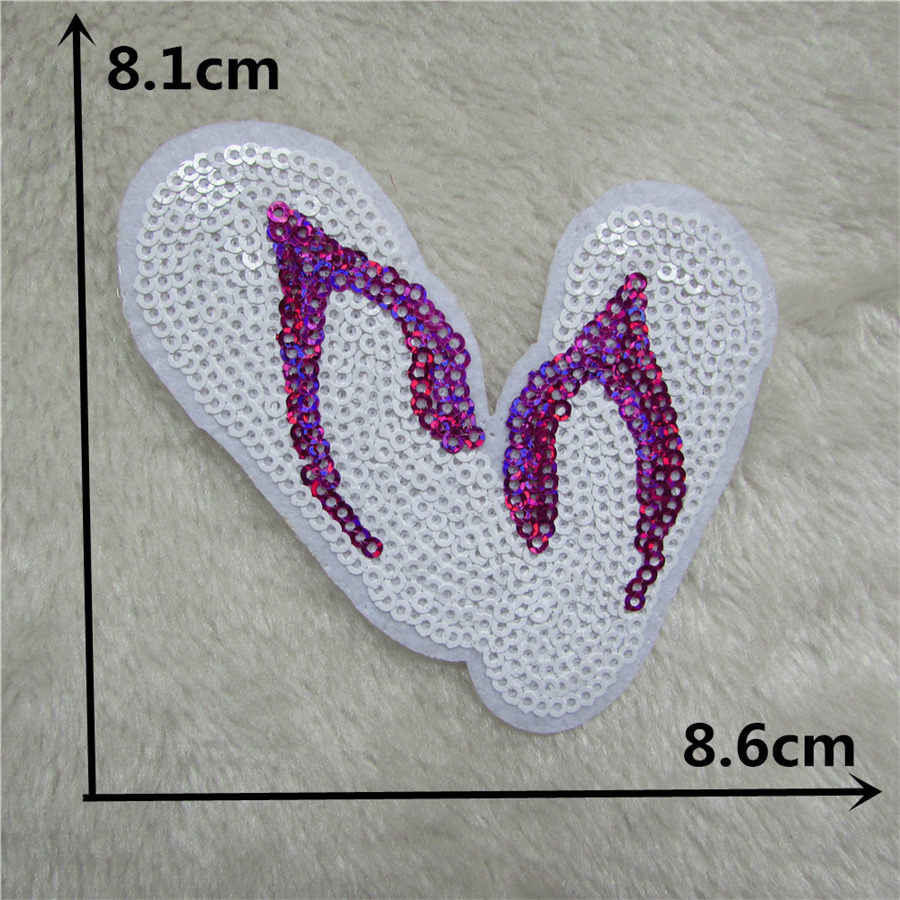 High quality Embroidery Applique Iron On Patch For Clothing Shoes Hat pattern Badge Paste Sewing Stickers Decorate Clothes bag