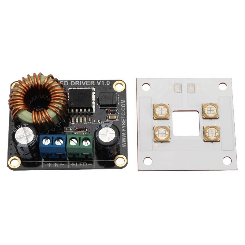 Carte d'entraînement LED 30 W pilote de courant Constant + carte de lumière LED pour imprimante 3D DLP Boost SLA SD998