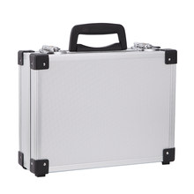 Aluminum Alloy Instrument Repair Camera Photography Tool Holder Storage Case Box heavy duty flight case with Foam Insert(China)