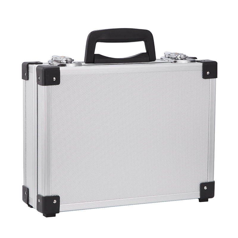 Aluminum Alloy Instrument Repair Camera Photography Tool Holder Storage Case Box heavy duty flight case with Foam Insert