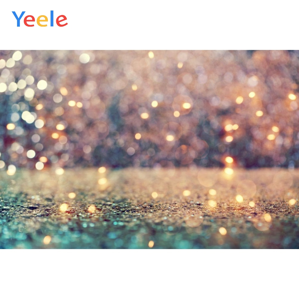 Yeele Road Light Bokeh Dreamy Scene Children Birthday Party Photography Backdrop Wedding Photographic Background Photo Studio in Background from Consumer Electronics