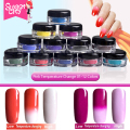 Temperature Color Change Nail Glitter Powder Chrome Bling Chameleon Pigment Gel Nail Polish Decoration 12 Colors 1g Box
