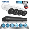 ANNKE 4CH 1080P DVR HD CVI Digital WDR 2 0 MP Cameras CCTV Home CCTV Security