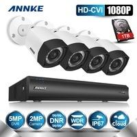 ANNKE 4CH 1080P DVR HD CVI Digital WDR 2 0 MP Cameras CCTV Home CCTV Security