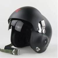 New Red Star Military Tactical Jet Pilot Dual Lens Glass Helmet Open Face Helmet Motorcycle Motorcross