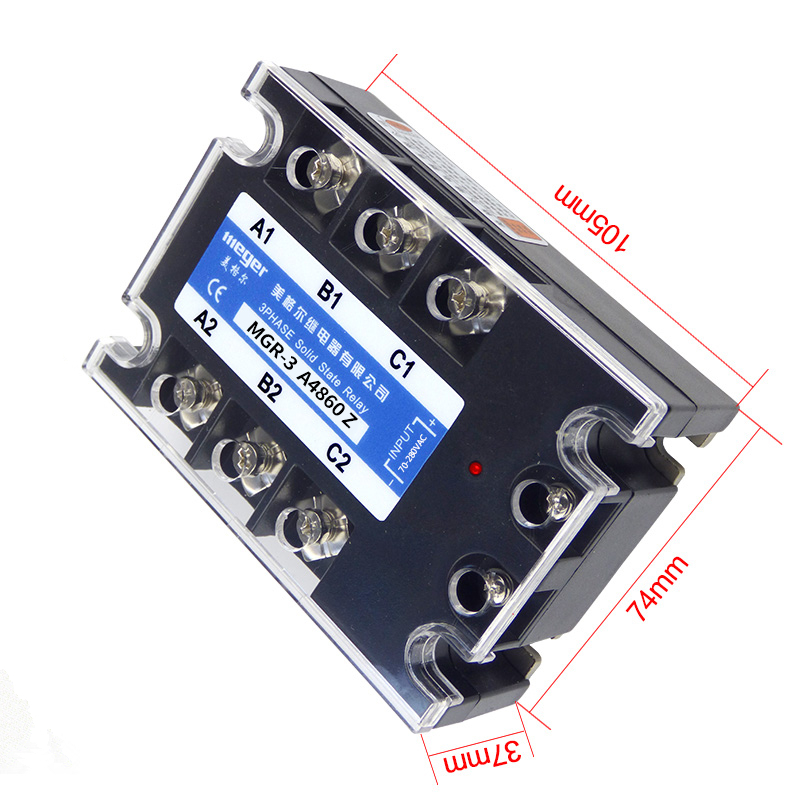 1pcs Solid State Relay Module SSR-25DA 25A /250V 3-32V DC Input 24-380VAC Output+Heat Sink SSR25DA wsfs wholesale 2 x heat sink input 3 32v dc output 5a 200v dc pcb mount ssr solid state relay