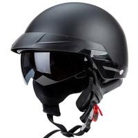 Zombies Racing ZR 816 RETRO Cruiser Helmet DOT Approved motorcycle helmet Open face helmet for Motorcycle fans