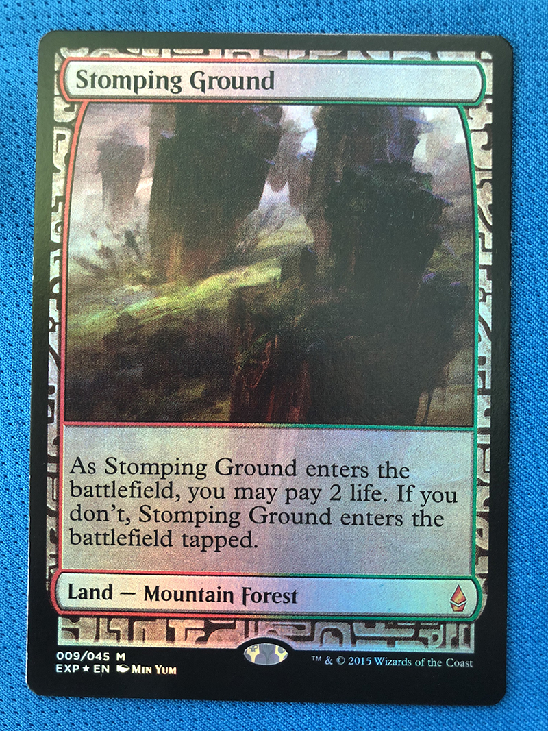 Stomping Ground Zendikar Expeditions Magician ProxyKing 8.0 VIP The Proxy Cards To Gathering Every Single Mg Card.
