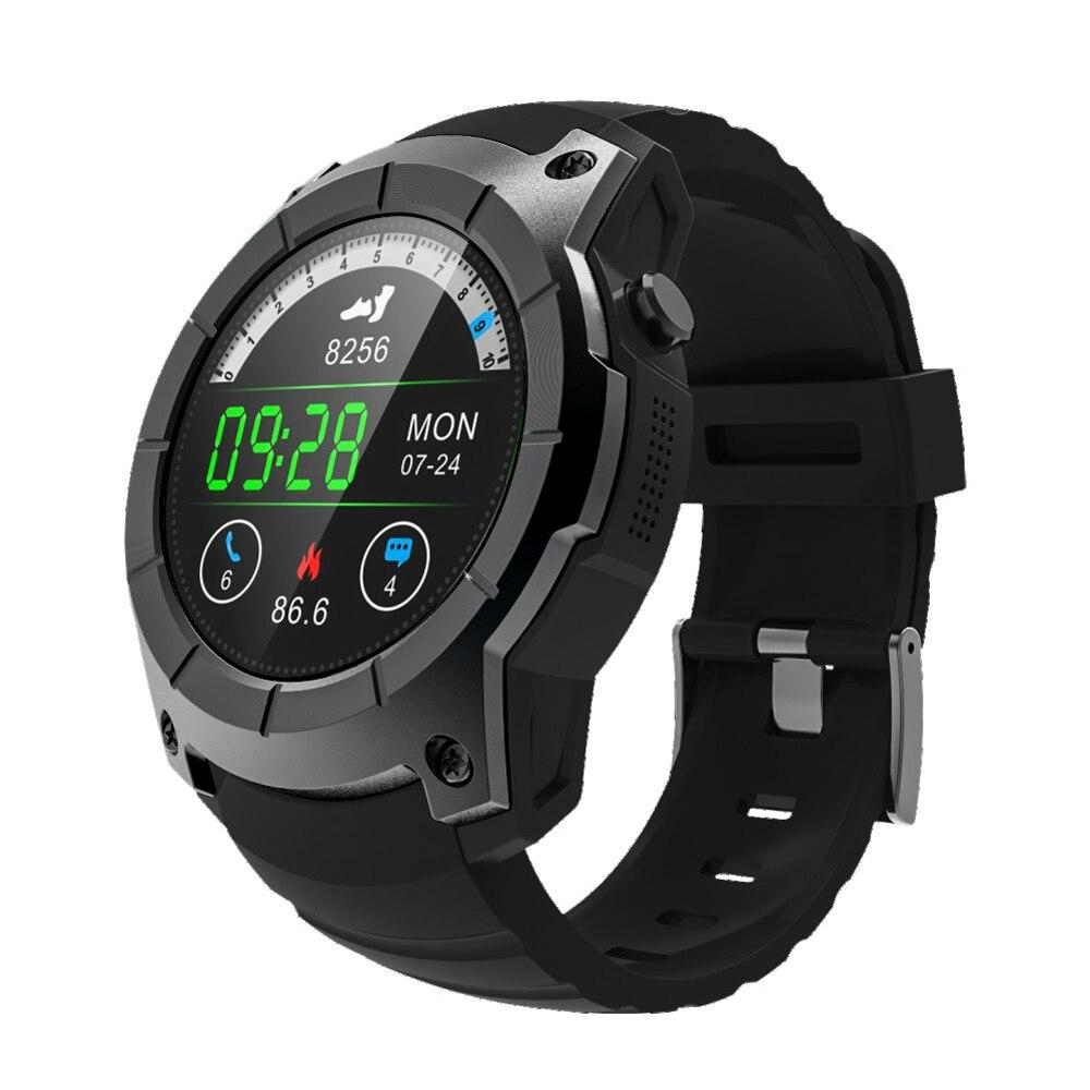 OGEDA Uomini Astuto di GPS Della Vigilanza 2018 di Sport di Frequenza Cardiaca Barometro Monitor Smartwatch Multi-sport Modello di Orologio Intelligente per Android IOS S958