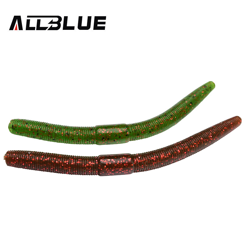 Buy allblue 6pcs lot senko smell plastic for Plastic worm fishing