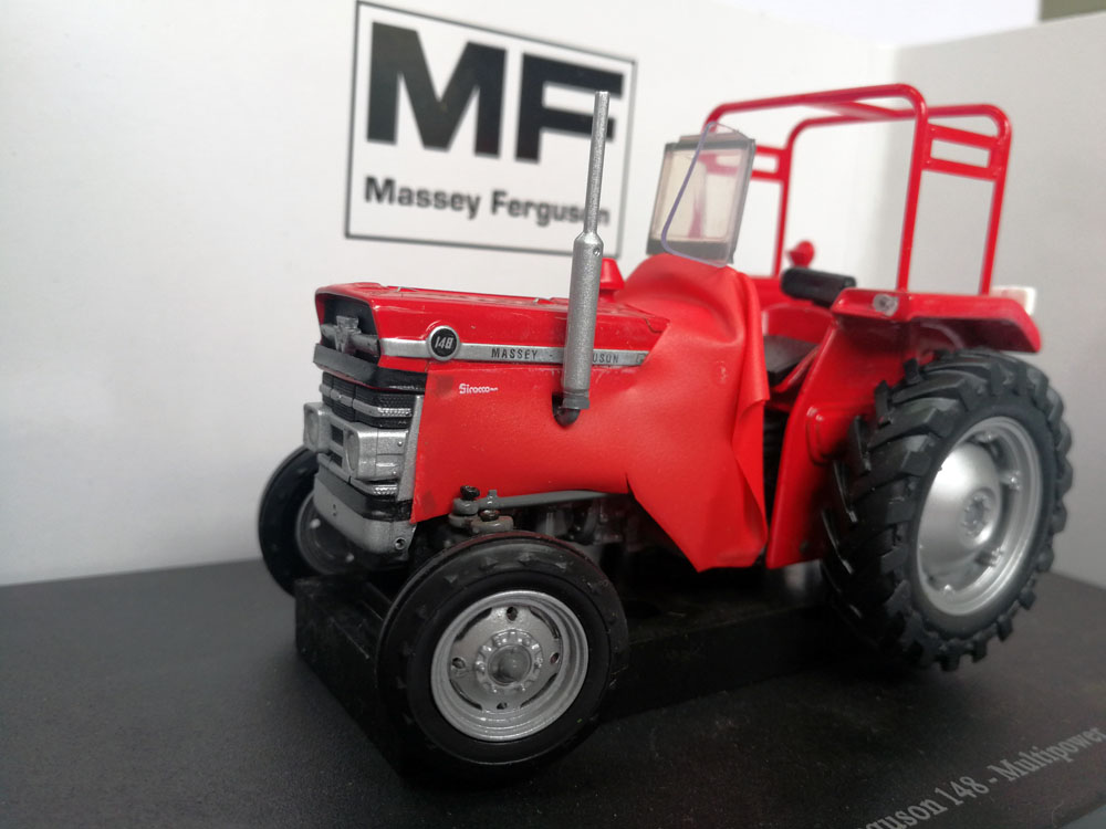 UH 5370 Massey Ferguson 148 Multipower รถแทรกเตอร์-ใน โมเดลรถและรถของเล่น จาก ของเล่นและงานอดิเรก บน   2