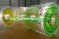 Водные игры ходить по воде пластиковый шар, PVC/'TPU надувные ролик воды для продажи