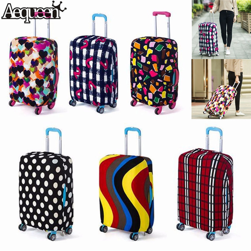 AEQUEEN Travel Luggage Cover Protective Suitcase Cover Trolley Case Travel Luggage Dust Cover For 18 To 20inch Bag Accessories