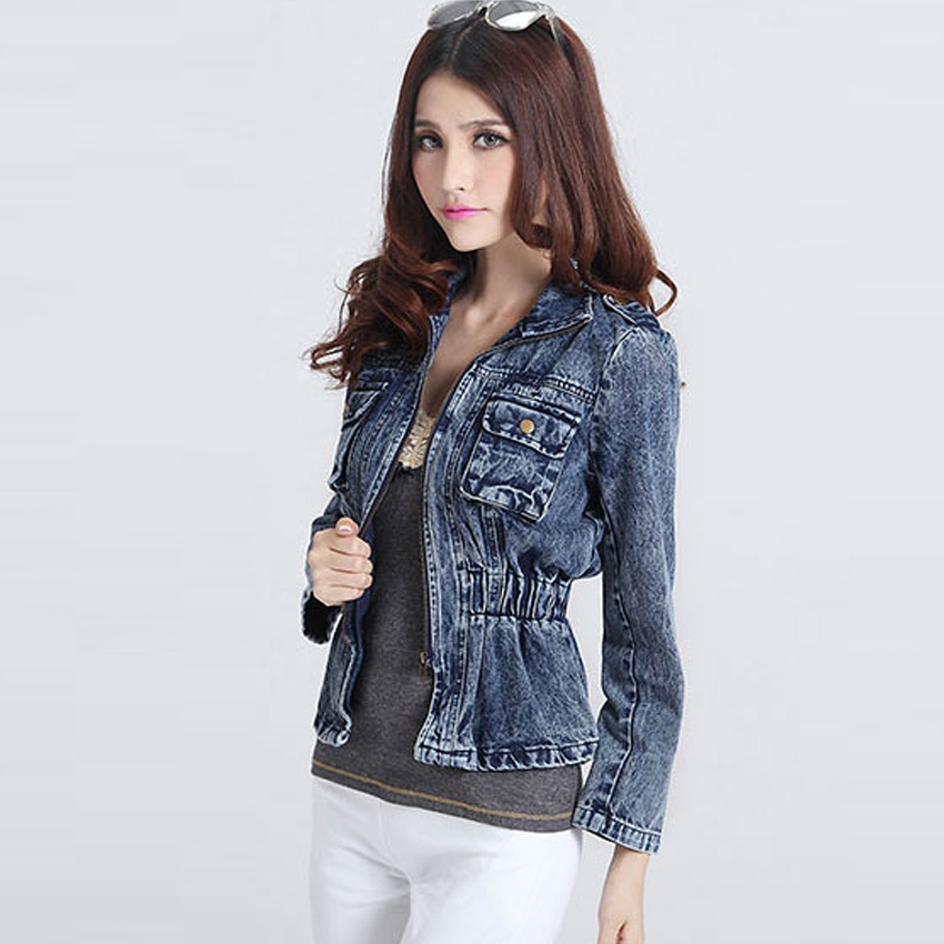 Popular Denim Jean Jackets-Buy Cheap Denim Jean Jackets lots from ...
