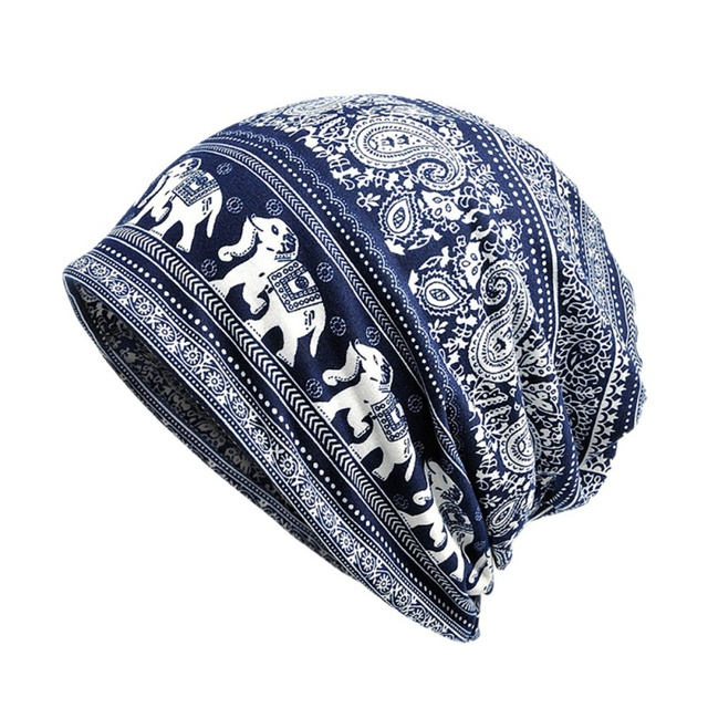 c48d5712db New Unisex Autumn Winter Cycling Cap Elephant Bandana Cashew Flowers Man  Bike Cap Road Bicycle Outdoor