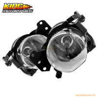 Fit For 04 05 06 07 08 BMW E60 5 Series Fog Lights Front Lamps Clear Lens PAIR SET USA Domestic Free Shipping
