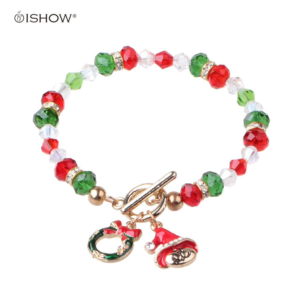 Christmas Gifts For 18 Year Old Boy: Christmas Gift Christmas Cat Wreath Charm Bracelet