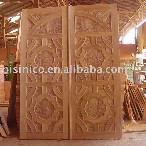 Antiqe Hand Carved Solid Wood Doorwooden Doorinterior And Exterior