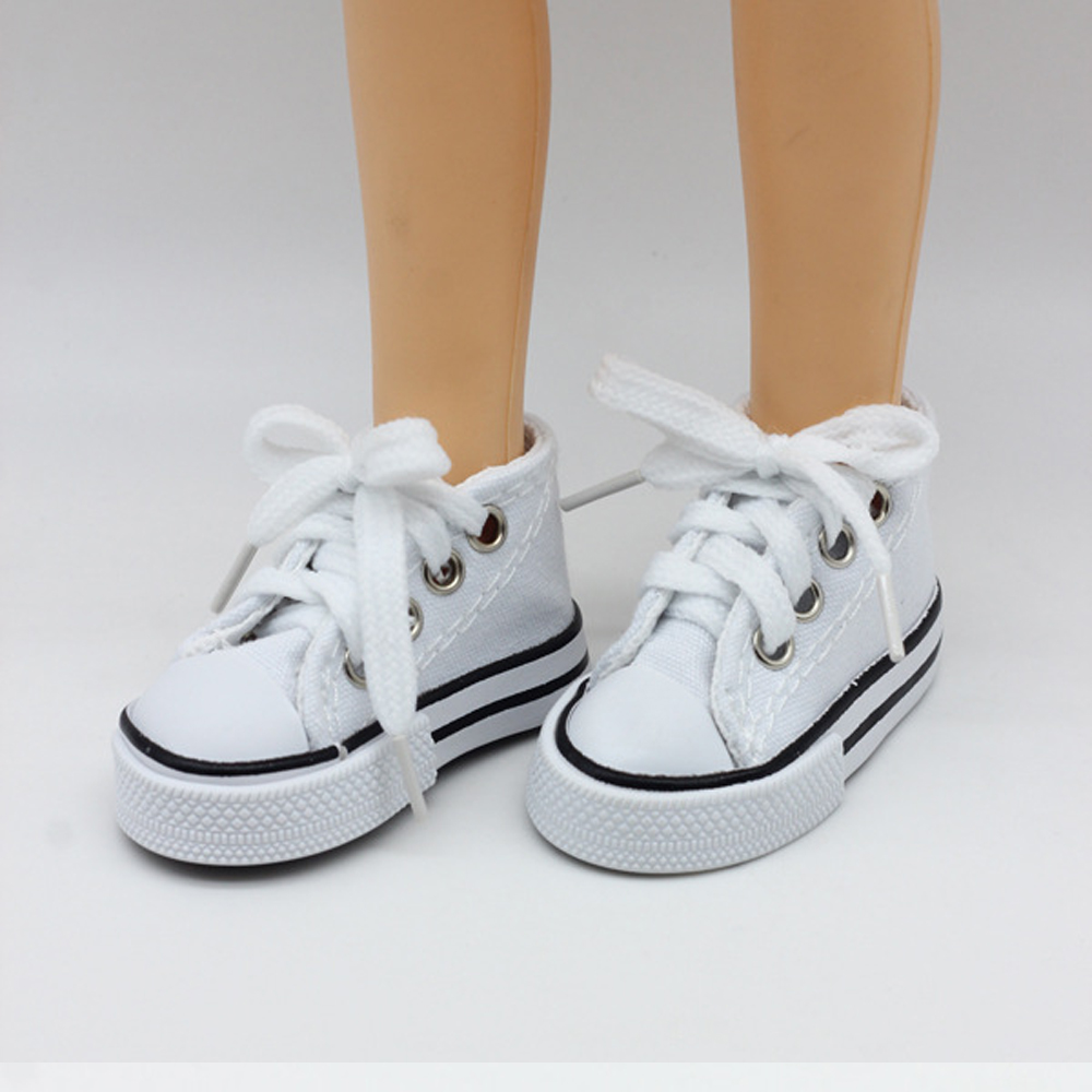 New Fashion Baby Born Doll Shoes Sport Style Shoes Canvas Shoes Fits 43 cm Zapf Dolls Baby Born and 16 American Girl 13 BJD