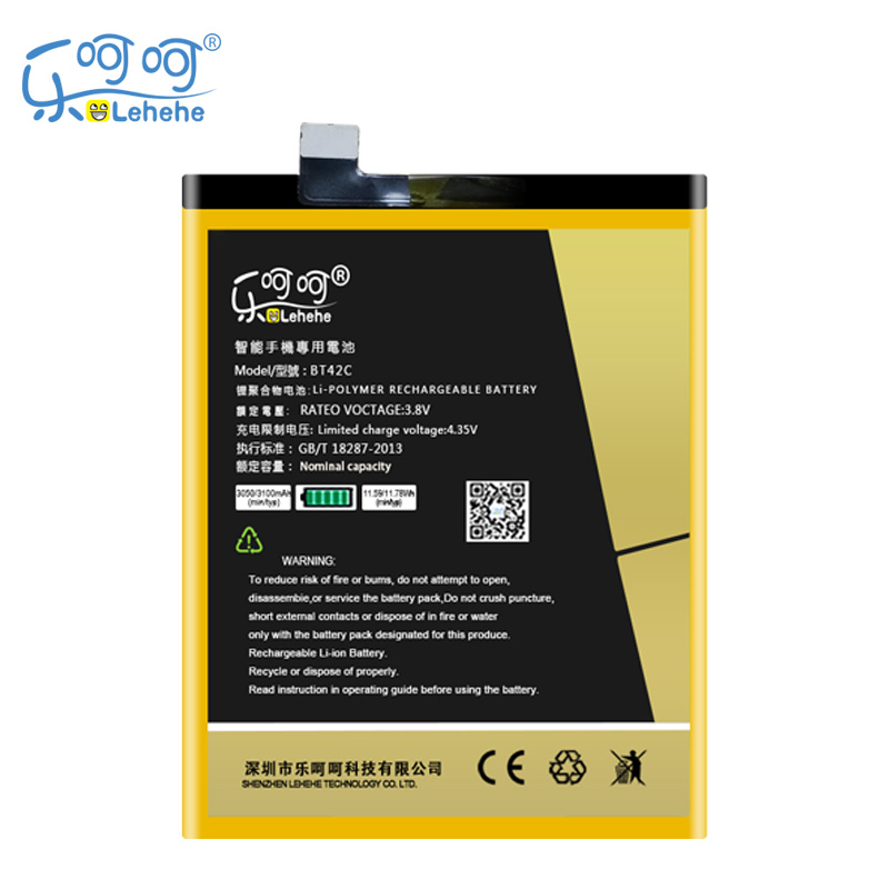 LEHEHE battery For Meizu M2 Note 3100mAh BT42C Meilan Note 2 Mobile Phone Battery Bateria Batteries Replacement Free Tools Gifts