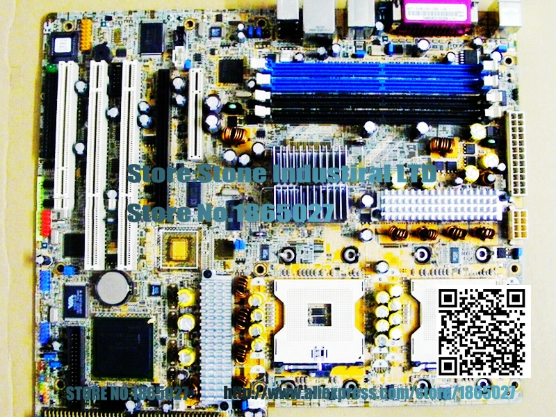 ФОТО NCT-D 7525 graphics workstation motherboard FSB 800 PCI-E DDR2 604 100% test