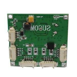 Image 4 - مصغرة PBC وحدة تبديل حجم 4 منافذ شبكة مفاتيح لوحة دارات مطبوعة البسيطة محول ايثرنت وحدة 10/100 Mbps OEM/ODM إيثرنت محور