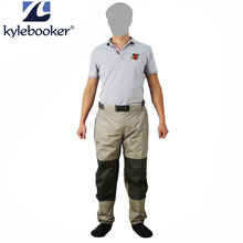 KyleBooker Fly Fishing Waders Pant Durable Weatherproof Wading Pants With Gore-Tex Pro Shell Fabric