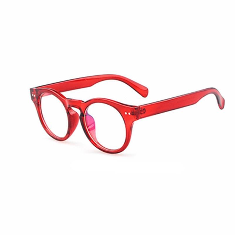 81622eb064e0c4 Vintage Unisexe Rétro Étoiles Ronde En Métal Cadre Objectif Clair lunettes  Optique lunettes Designer Nerd Geek Lunettes Lunettes