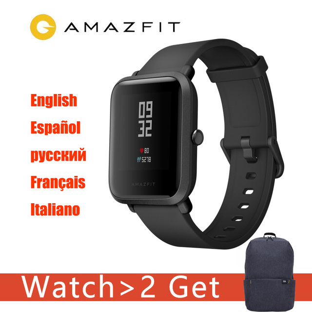 Amazfit Bip2  Xiaomi Amazfit Bip Smart Watch Huami Miband Pace bip Lite Gloness Smartwatch Heart Rate For Phone MI8 IOS