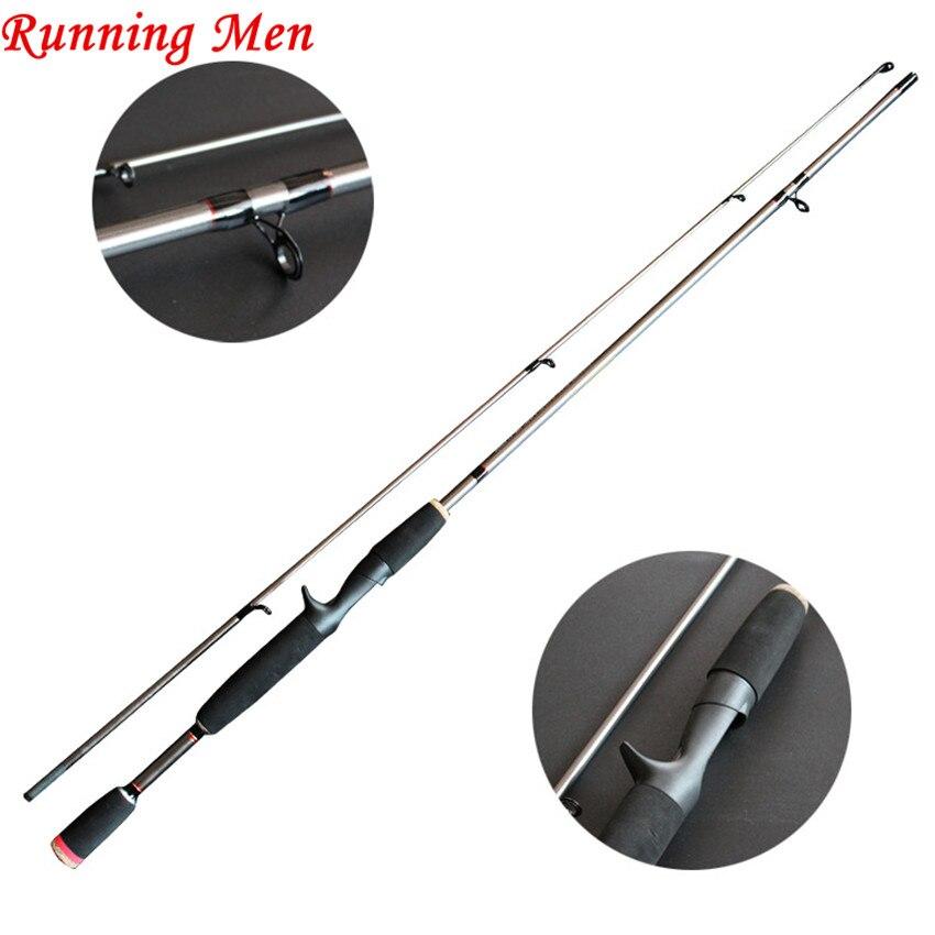 1.8M/2.1M M Power 1/8-3/4oz 6-15LB Carbon Spinning Casting Lure Fishing Rod