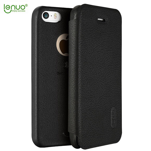 lenuo original for iphone 5s flip case cover fashion pu phone baglenuo original for iphone 5s flip case cover fashion pu phone bag protective shell for apple iphone 5 5s se