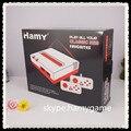 1 lote HAMY Retro juegos de video + 8 bit dendy TV consola de juegos ( dos controladores ) ( 88 juegos divertidos juegos incluir ) fc juego de cartucho rom