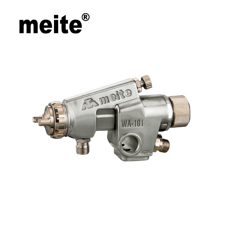 Meite automatic spray gun MT-WA101 compact type pressure feed type paint gun in nozzle 0.8/1.0/1.3/1.5mm Sep.3rd update tool meite mt w101 101s mid sized spray gun h v l p tool for car paint in high efficiency and 600cc cup suction type in 1 0mm nozzle page 5