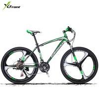 New Brand 26 17 Inch 21 27 Speed Carbon Steel Frame One Pc Wheel Disc Brake