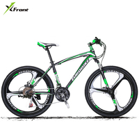New Brand 26 17 Inch 21 27 Speed Carbon Steel Frame One Pc Wheel Disc Brake