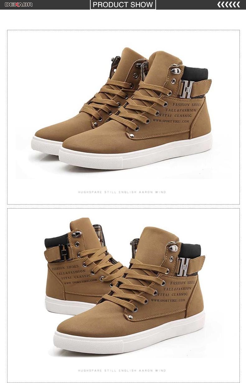 HTB1or3TAoR1BeNjy0Fmq6z0wVXaT DEKABR Hot Men Shoes Fashion Warm Fur Winter Men Boots Autumn Leather Footwear For Man New High Top Canvas Casual Shoes Men