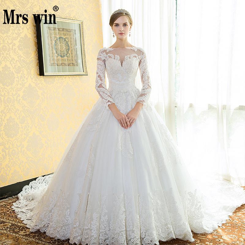Vintage Wedding Dresses 2019 New Robe De Mariee Grande