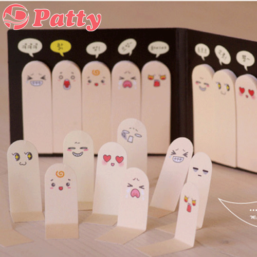 100 pcs/Lot Sticky notes Finger it adhesive paper Post memo note stationery office accessories School supplies papeleria F711