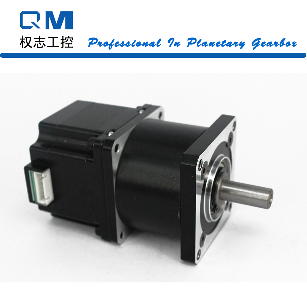 Nema 23 stepper motor L=42mm with planetary reduction gearbox ratio 3:1 for CNC cnc robot pump nema23 geared stepping motor ratio 50 1 planetary gear stepper motor l76mm 3a 1 8nm 4leads for cnc router