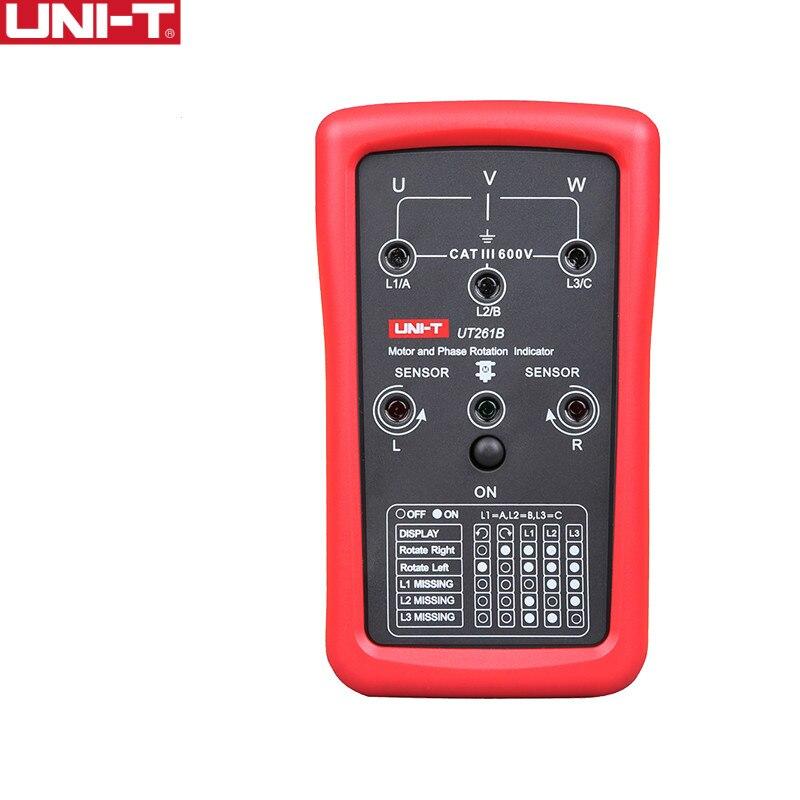 UNI-T UT261B séquence de Phase et indicateurs de Rotation du moteur testeur mètres nouveau électronique